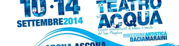 "Mollificio Valli: main sponsor of ""Il Teatro sull'acqua 2014"", ""The stage on the water 2014"""